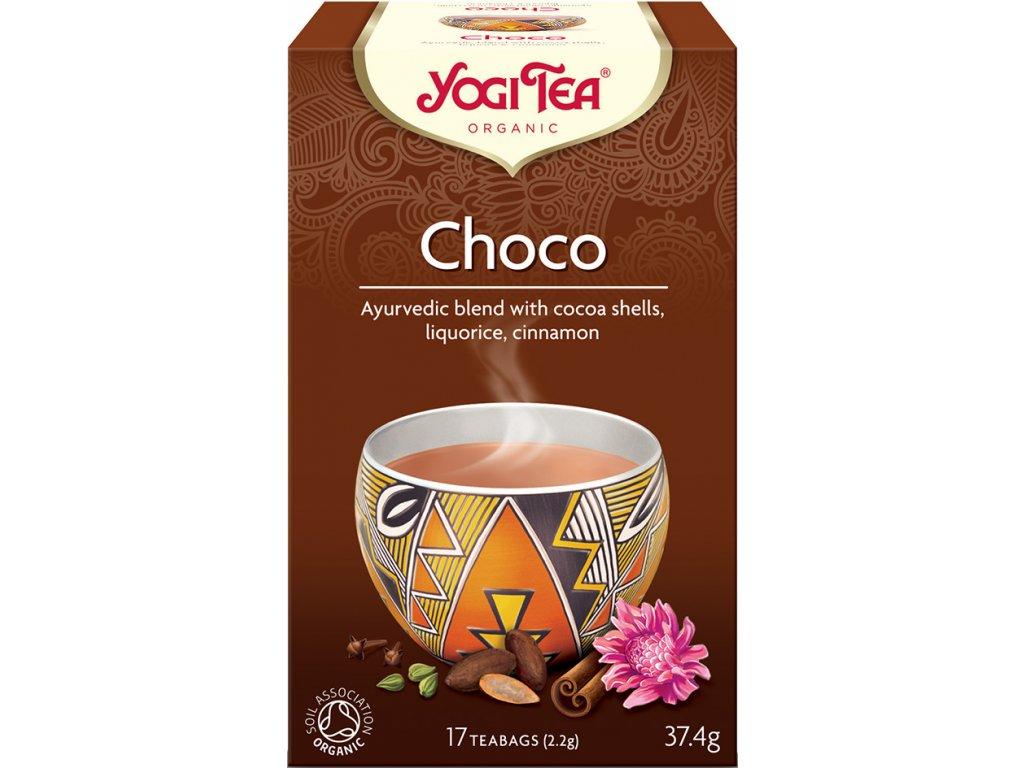 Choco Yogi Tea 17x2,2 g BIO