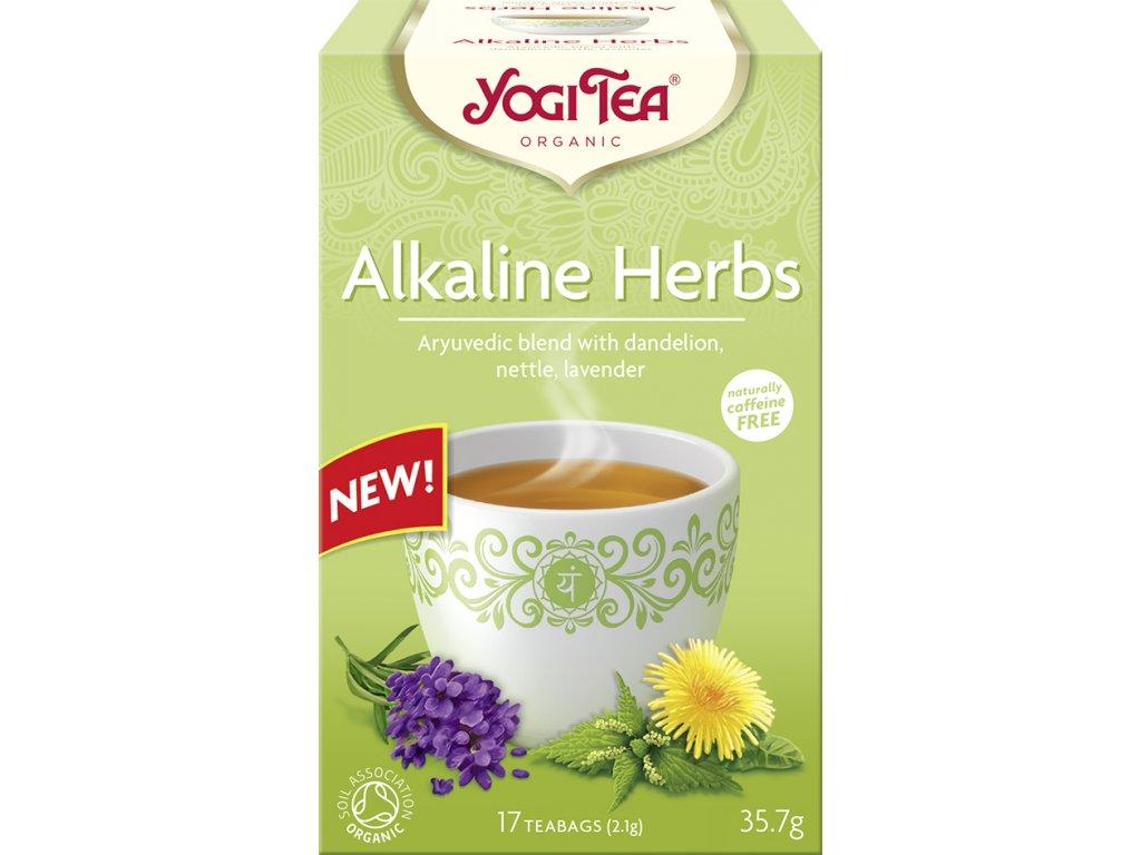 Zásadité bylinky Yogi Tea 17x2,1 g BIO