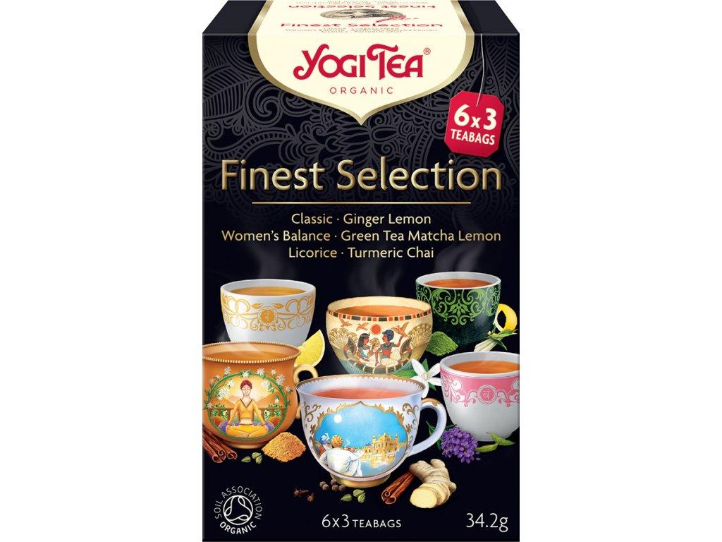 Výběr nejlepších Yogi Tea 34,6 g BIO