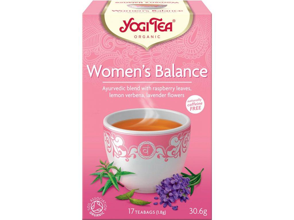 Rovnováha ženy Yogi Tea 17x1,8 g BIO