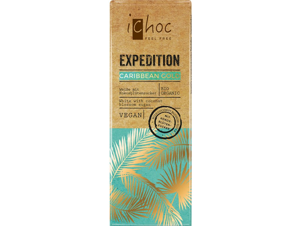 Caribbean Gold Expedition iChoc 50 g BIO