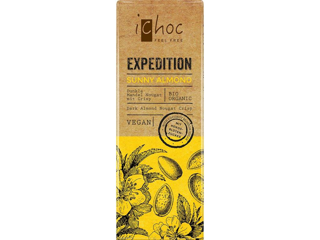Sunny Almond Expedition iChoc 50 g BIO