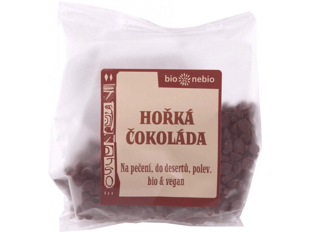 Pecičky z hořké čokolády bio*nebio 100 g BIO