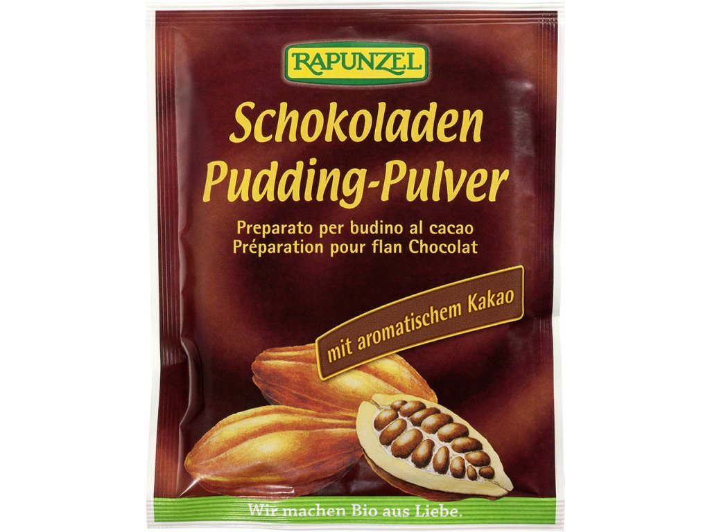 Pudinkový prášek čokoládový RAPUNZEL 43 g BIO