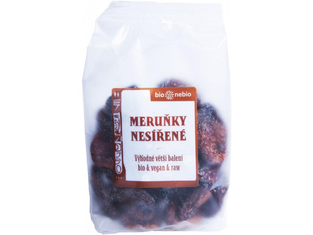 Sušené meruňky nesířené bio*nebio 300 g BIO