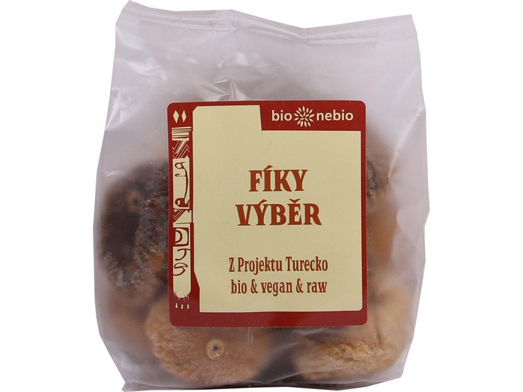 Sušené fíky VÝBĚR bio*nebio 200 g BIO