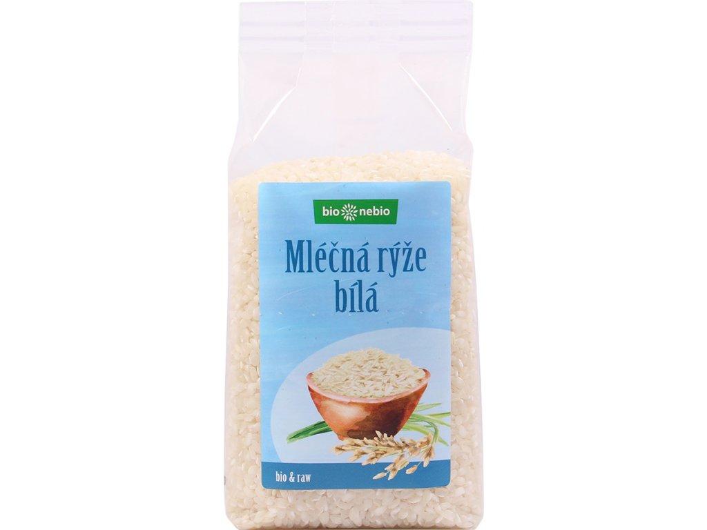Rýže mléčná bílá bio*nebio 500 g BIO