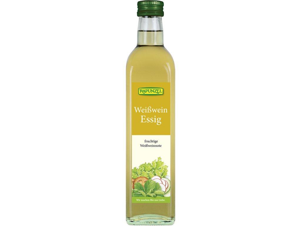 Ocet z bílého vína RAPUNZEL 500 ml BIO
