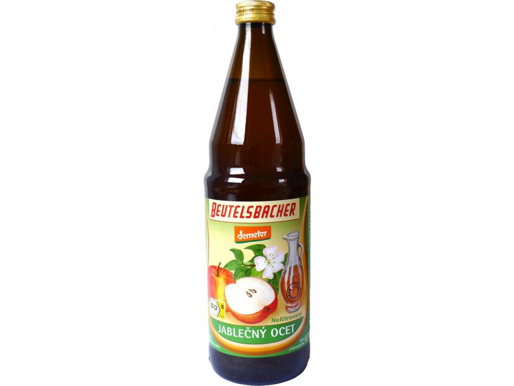 Jablečný ocet nepasterovaný Beutelsbacher 0,75 l BIO