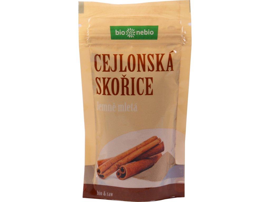 Cejlonská skořice mletá sáček bio*nebio 45 g BIO
