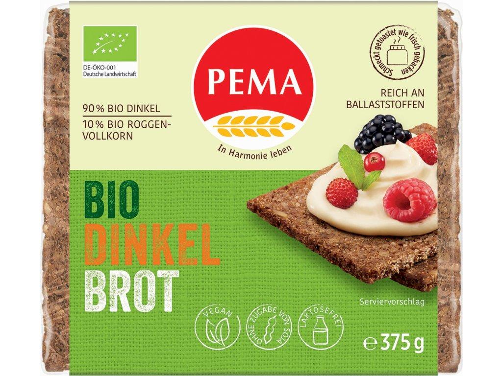 Špaldový chléb PEMA 375 g BIO
