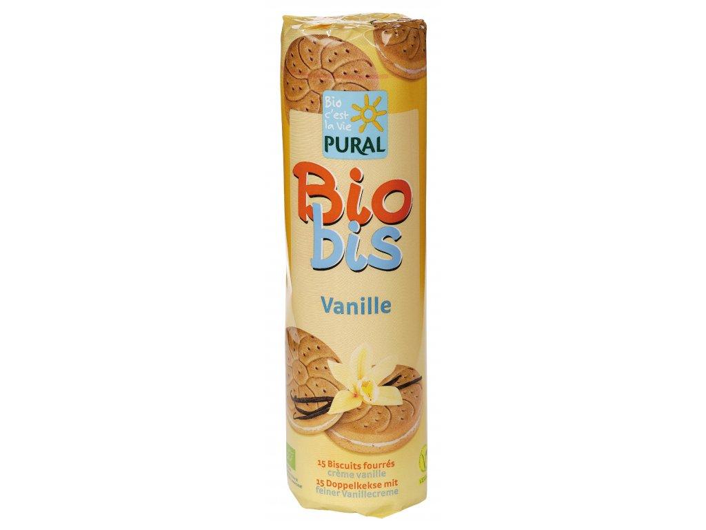 Pural BioBis 300 g vanilkové BIO VEGAN