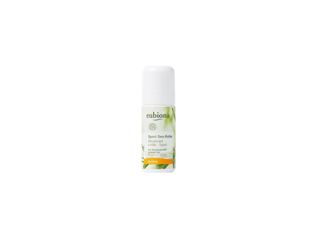 Eubiona deodorant roll-on sport rozmarýn-zel.čaj 50 ml