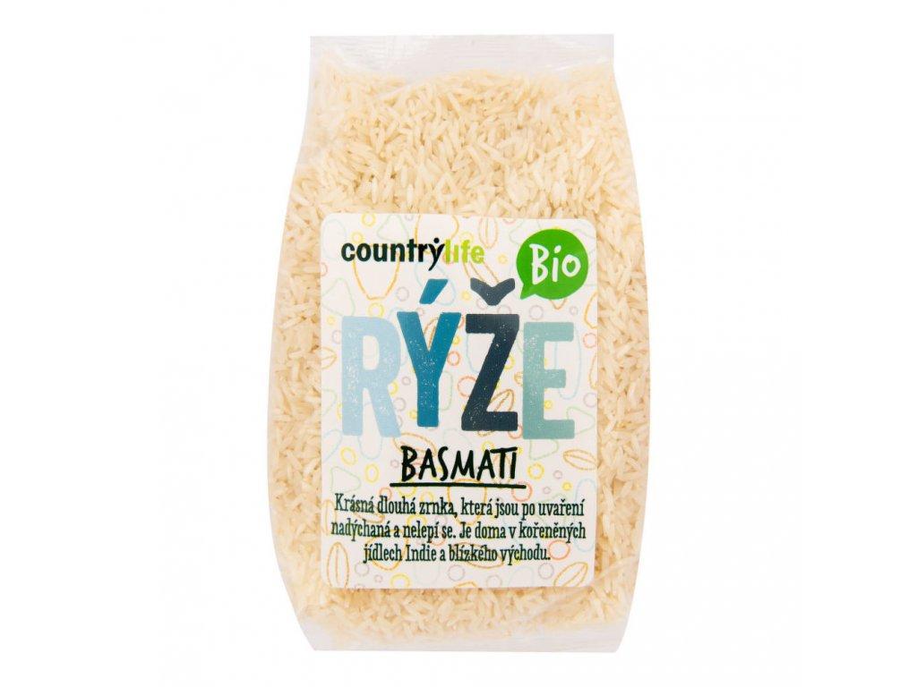 Rýže basmati COUNTRY LIFE BIO 500 g