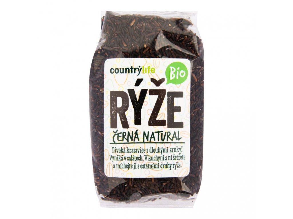 Rýže černá natural COUNTRY LIFE BIO 500 g