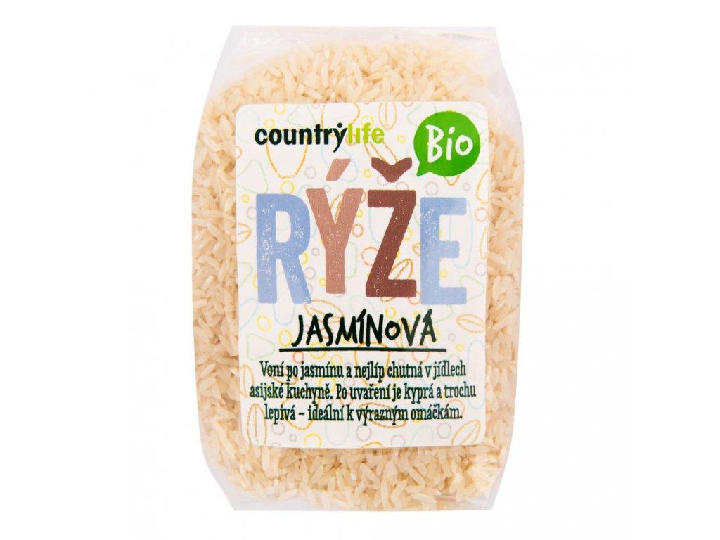 Rýže jasmínová COUNTRY LIFE BIO 500 g