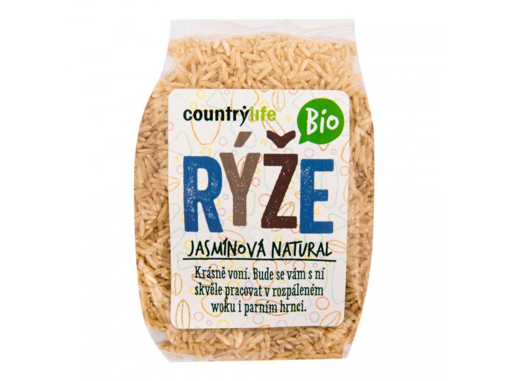 Rýže jasmínová natural COUNTRY LIFE BIO 500 g