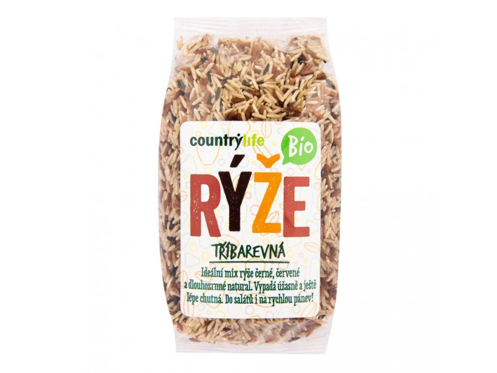 Rýže tříbarevná COUNTRY LIFE BIO 500 g