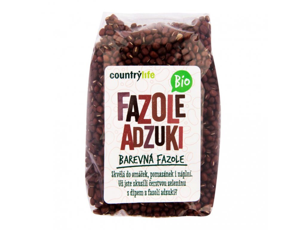 Fazole adzuki COUNTRY LIFE BIO 500 g