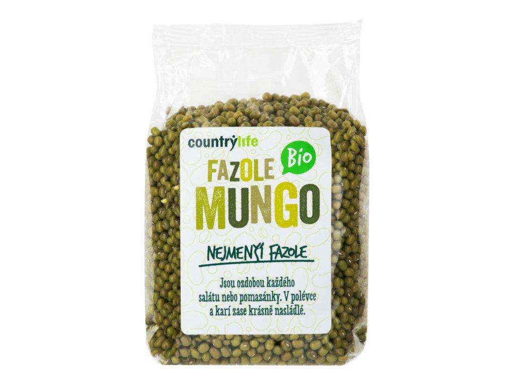 Fazole mungo COUNTRY LIFE BIO 500 g