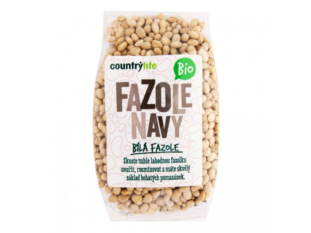Fazole navy COUNTRY LIFE BIO 500 g