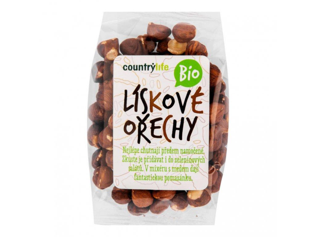 Lískové ořechy COUNTRY LIFE BIO 100 g
