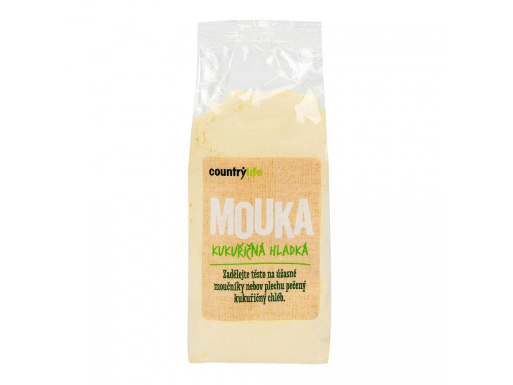 Mouka kukuřičná hladká COUNTRY LIFE 400 g
