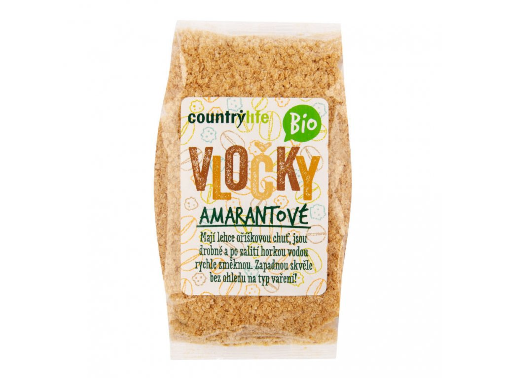 Vločky amarantové COUNTRY LIFE BIO 250 g