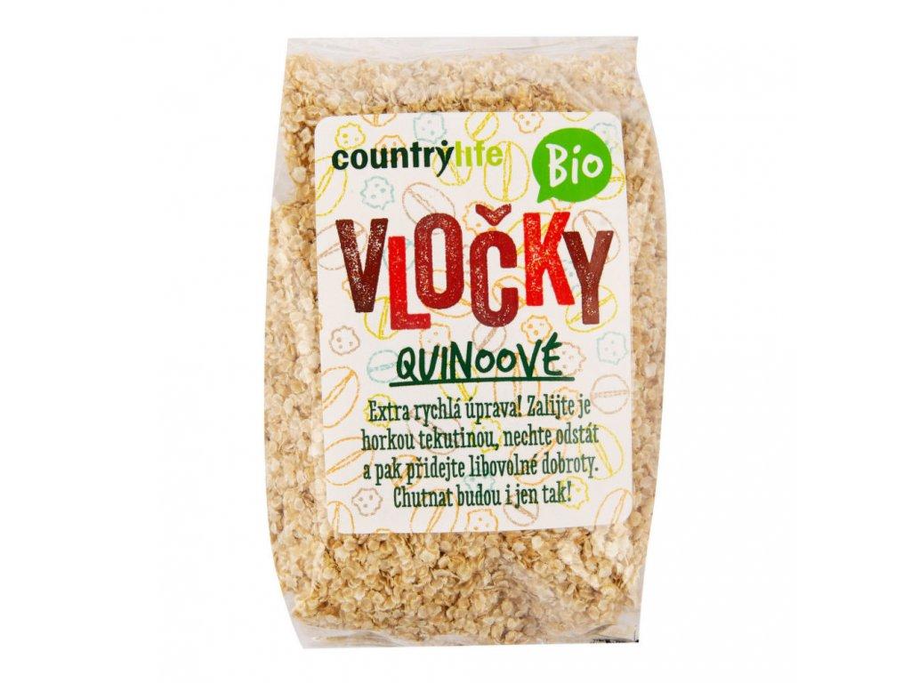 Vločky quinoové COUNTRY LIFE BIO 250 g
