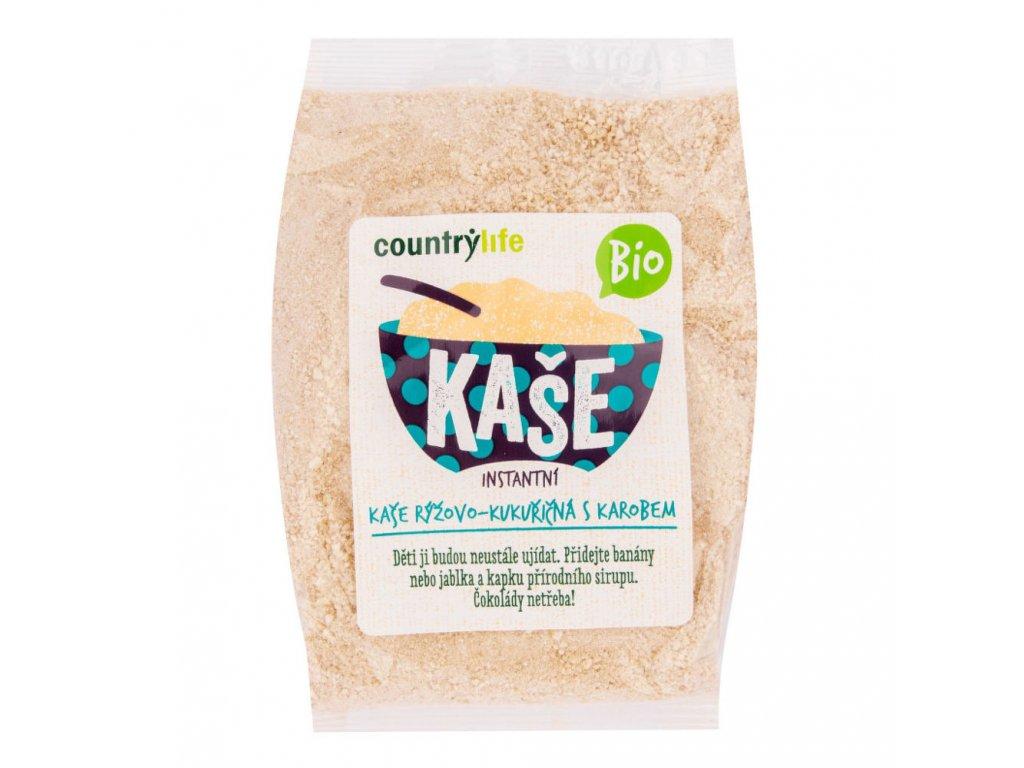 Kaše rýžovo-kukuřičná s karobem COUNTRY LIFE BIO 200 g
