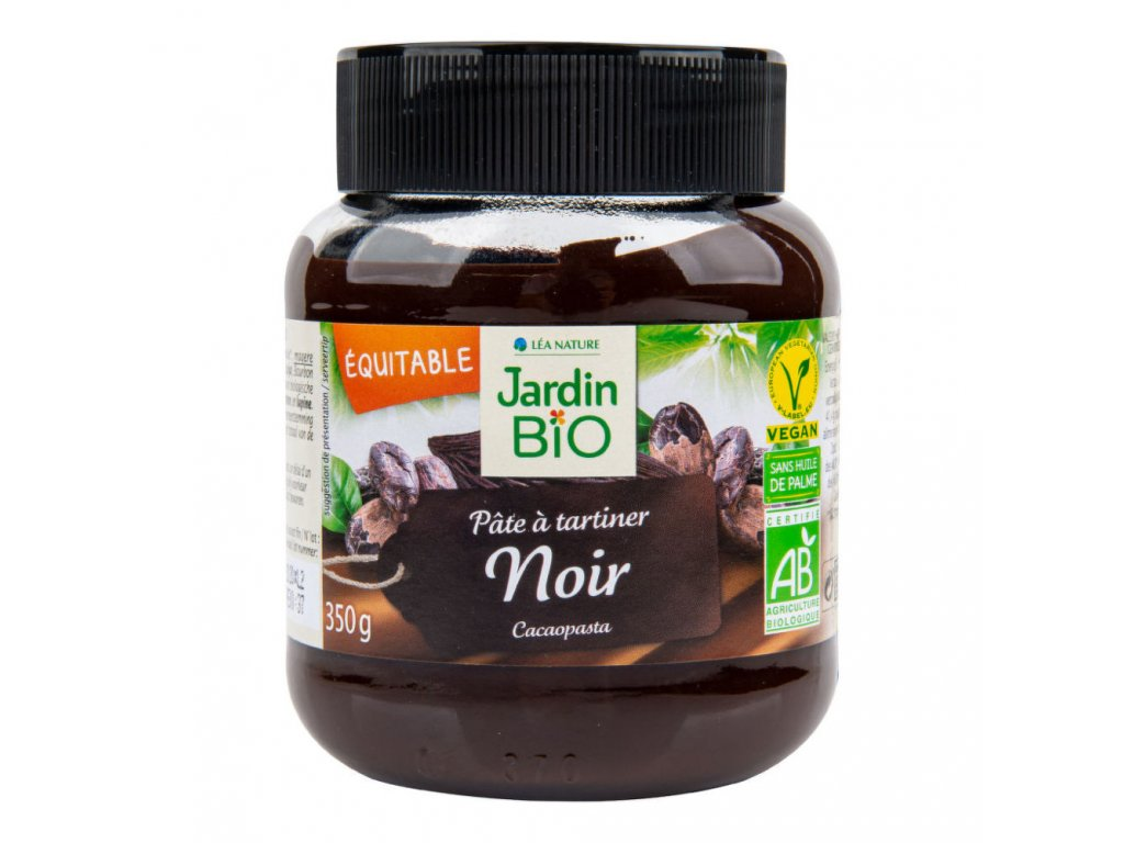 Pomazánka kakaová tmavá JARDIN BIO BIO 350 g