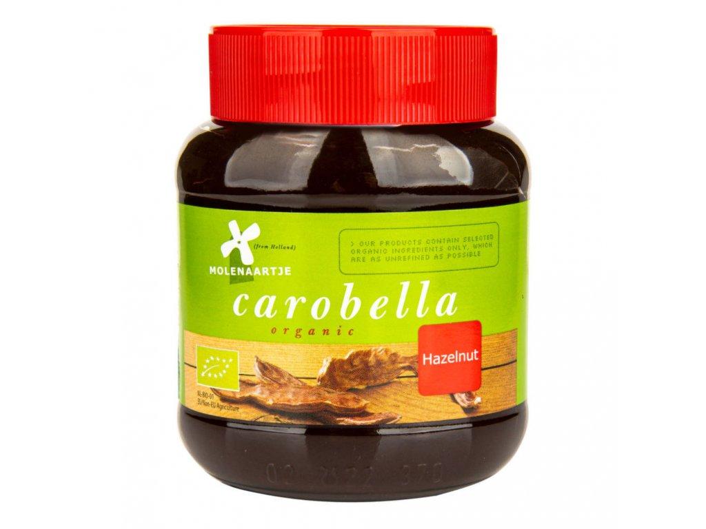 Carobella karobovo-lísková pomazánka MOLENAARTJE BIO 350 g
