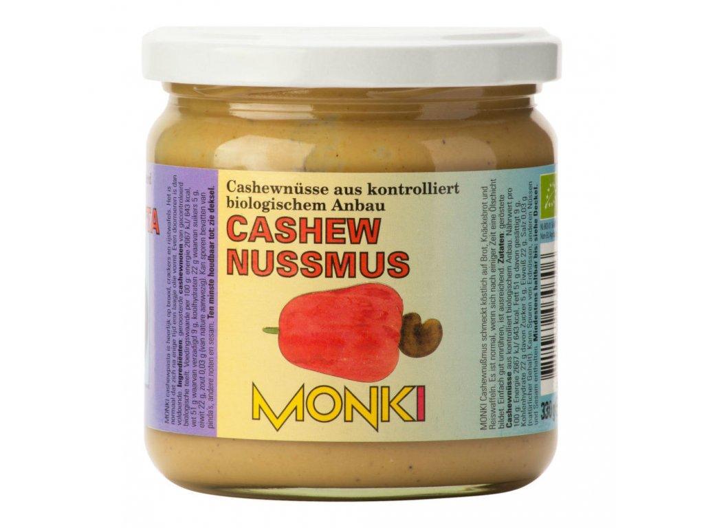 Krém z kešu ořechů MONKI BIO 330 g