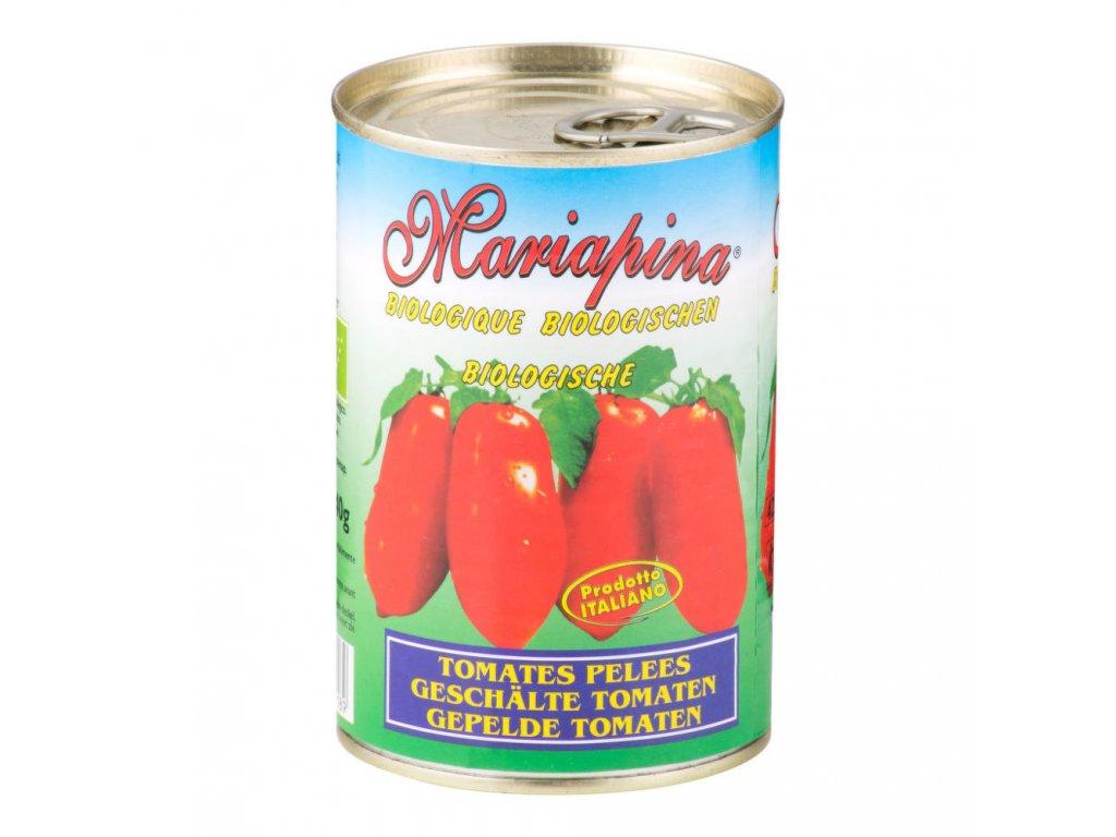 Rajčata celá sterilovaná MARIAPINA BIO 400 g