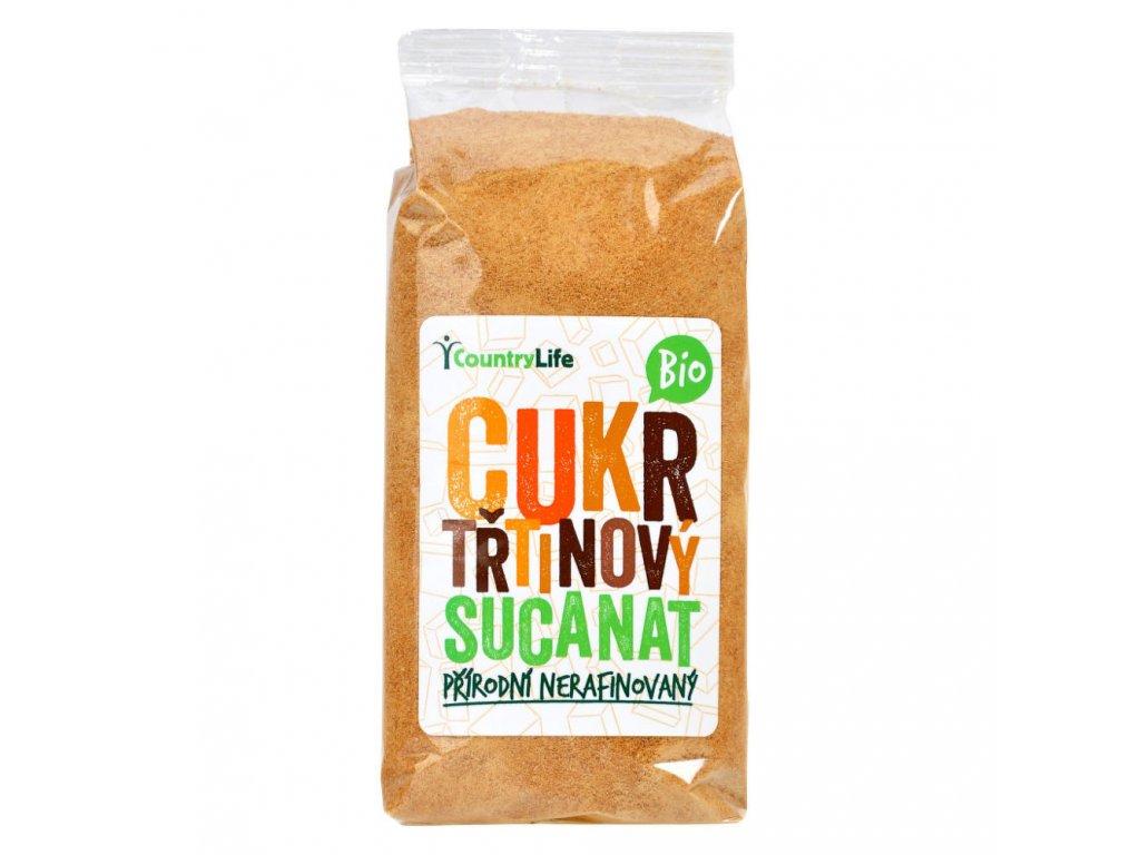 Cukr třtinový Sucanat COUNTRY LIFE BIO 500 g