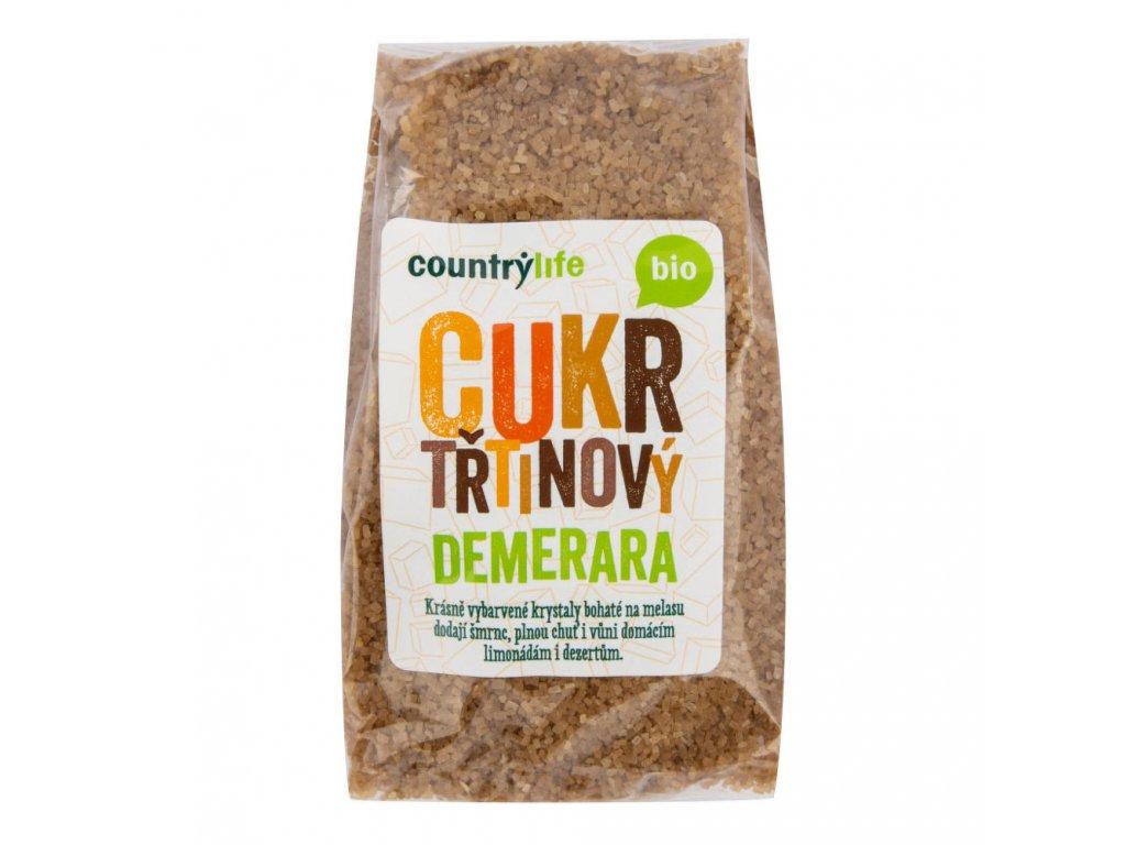 Cukr třtinový Demerara COUNTRYLIFE BIO 500 g