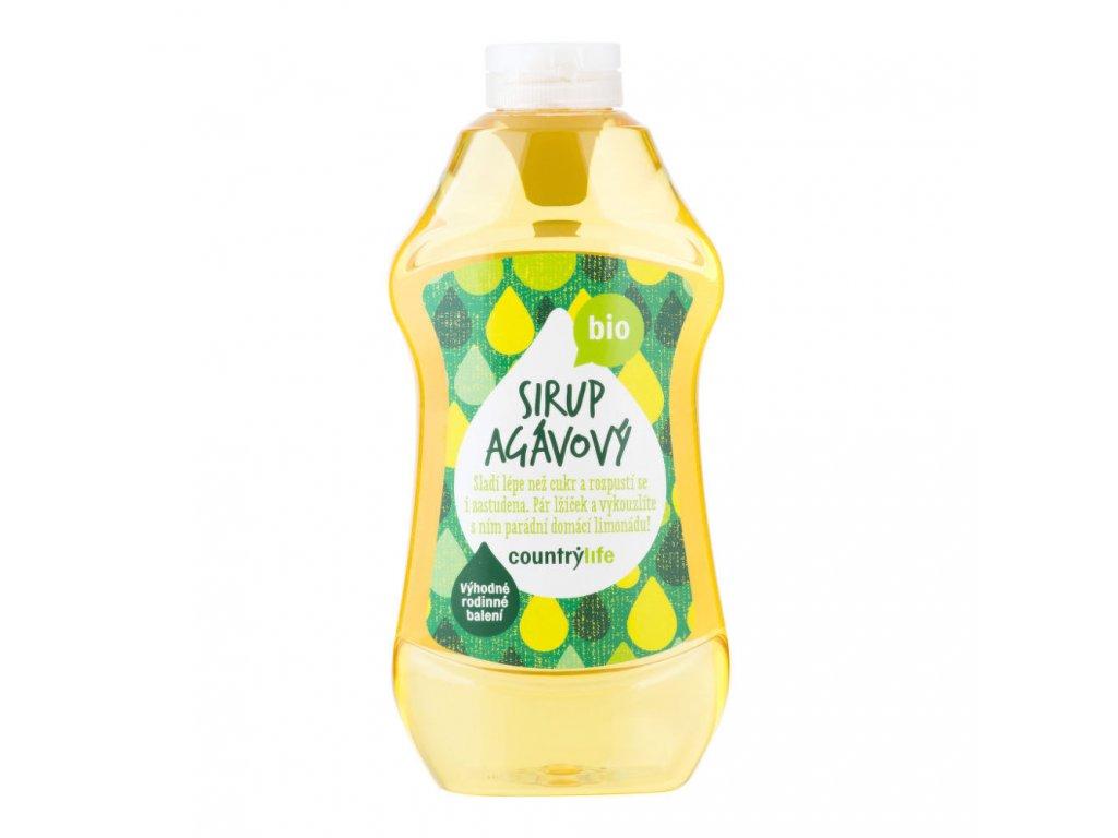 Sirup agávový COUNTRYLIFE BIO 874 ml