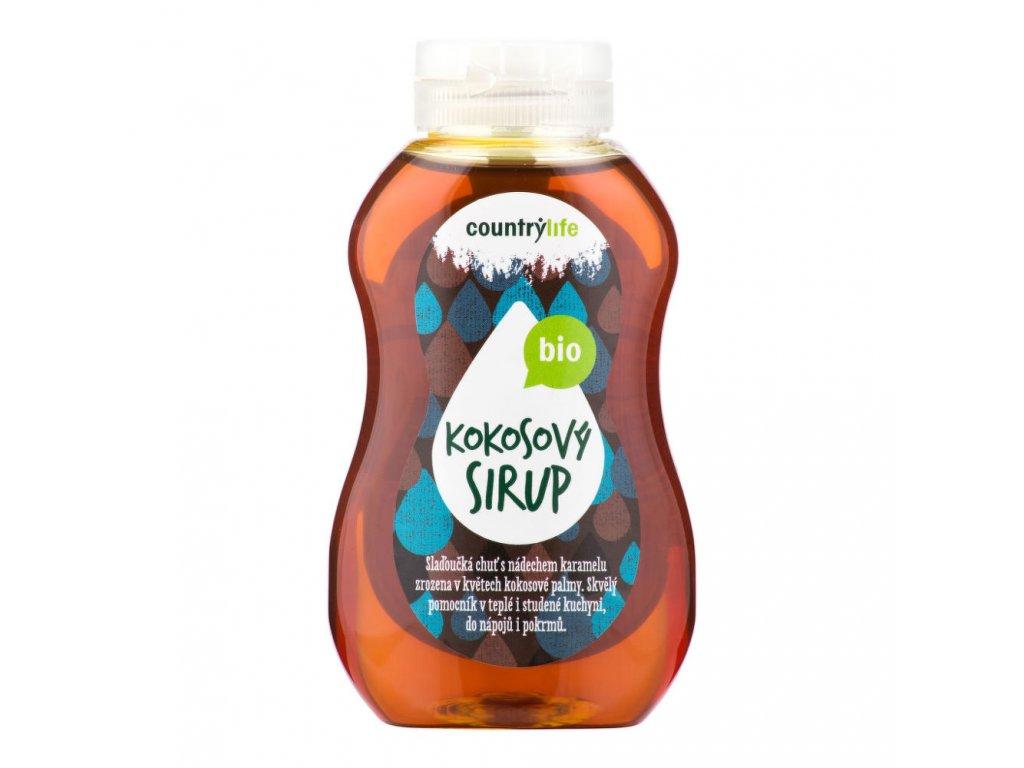 Sirup kokosový COUNTRY LIFE BIO 250 ml