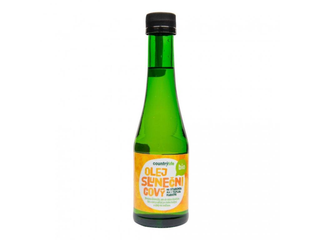 Olej slunečnicový COUNTRY LIFE BIO 200 ml
