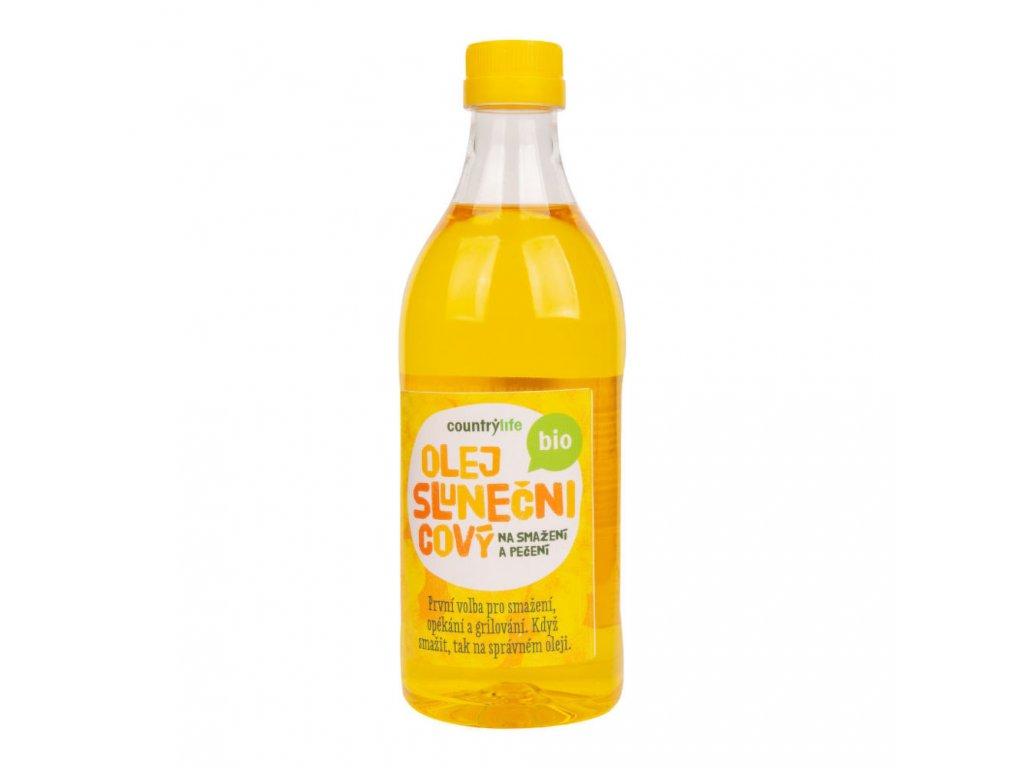 Olej slunečnicový na smažení a pečení COUNTRY LIFE BIO 1 l