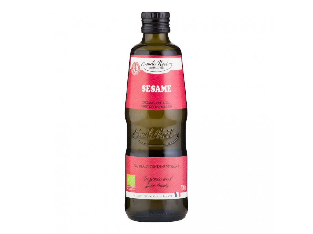 Olej sezamový fair trade EMILE NOËL BIO 500 ml