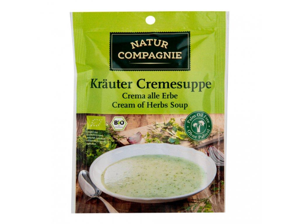 Polévka bylinková krémová NATUR COMPAGNIE BIO 38 g