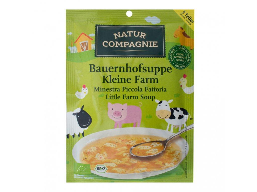 Polévka malá farma NATUR COMPAGNIE BIO 63 g