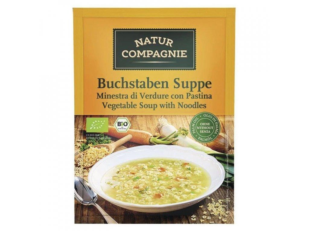 Polévka zeleninová písmenková NATUR COMPAGNIE BIO 50 g