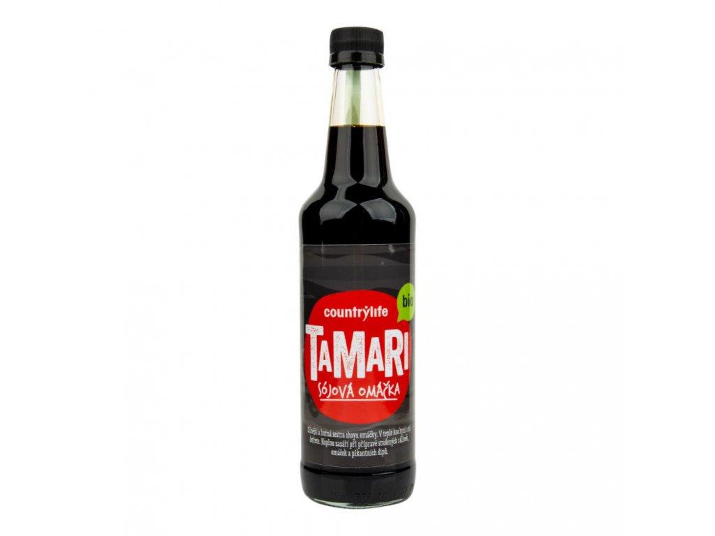 Tamari sójová omáčka COUNTRY LIFE BIO 500 ml