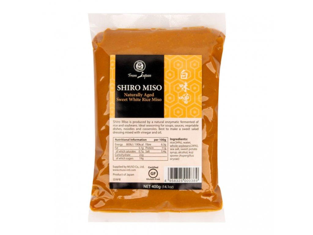 Miso shiro bílá rýže MUSO 400 g