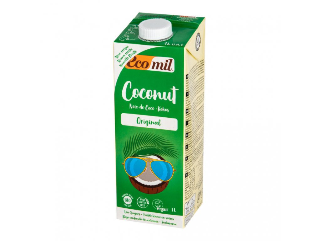 Nápoj z kokosu ECOMIL BIO 1 l