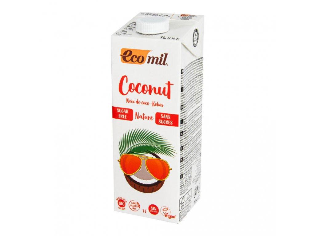 Nápoj z kokosu nature ECOMIL BIO 1 l