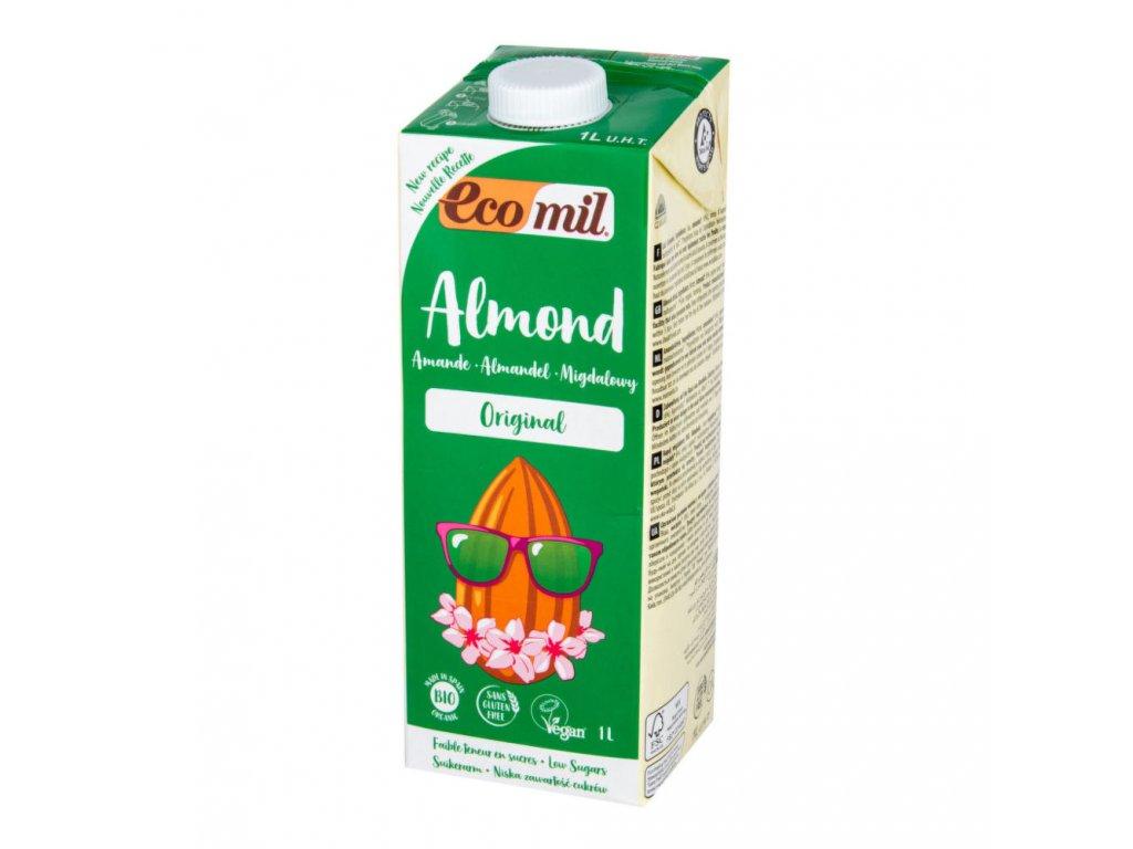 Nápoj ze sladkých mandlí ECOMIL BIO 1 l