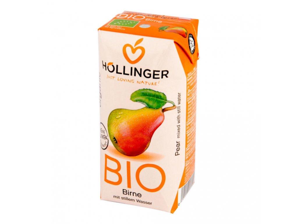Nektar hruška HOLLINGER BIO 200 ml